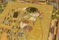 Gobelin Wandbehang Gustav Klimt »Der Kuss«. Bild 4
