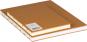 Großes Skizzenbuch mit Blanko-Seiten, braun. Koptische Bindung. Bild 4