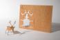 Holzpostkarten-Set »Frohe Weihnachten«. Bild 4