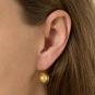 Ohrringe aus Murano Perle, gold. Bild 4