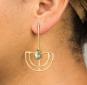 Ohrringe »Bauhaus«. Bild 4