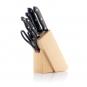 Scharfes Messerset mit Holzblock, 6-teilig. Bild 4