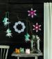Schneeflocken selber gestalten. 15 Inspirationen für wundervolle Papier-Schneeflocken. Bild 4