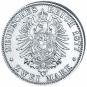 Silbermünzen aus der Regierungszeit des Eisernen Kanzlers: 2 Mark und 5 Mark Silberset - Originalmünzen Bild 4