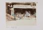 Tourist in Japan um 1900. Bild 4