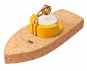 Korkschiff mit Teelicht »Dampfschiff«. Bild 5
