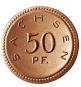 Porzellan-Münzsatz 1920/1921 - Notgeldmünzen des Freistaats Sachsen Bild 5
