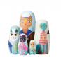 Puppe in der Puppe »Handbemalte Holzkatzen«. Bild 5