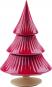 Tannenbaum Keramik, rot. Bild 5