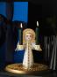 Vergoldeter Engel für Kerzen »Lucia«. Bild 5
