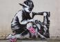 Banksy Portfolio Kunstdrucke. 8 Stück. Bild 6