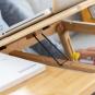 Beistelltisch aus Bambus. Bild 6
