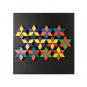 Magnet-Relief Mosaik, Rhomben. Bild 6
