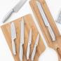 Messer-Set mit Holzhalterung. Bild 6