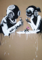 Banksy Portfolio Kunstdrucke. 8 Stück. Bild 7