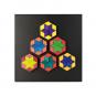 Magnet-Relief Mosaik, Rhomben. Bild 7