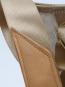 Segeltuch-Rucksacktasche »Ketsch Mini«, weiß-grau. Bild 7