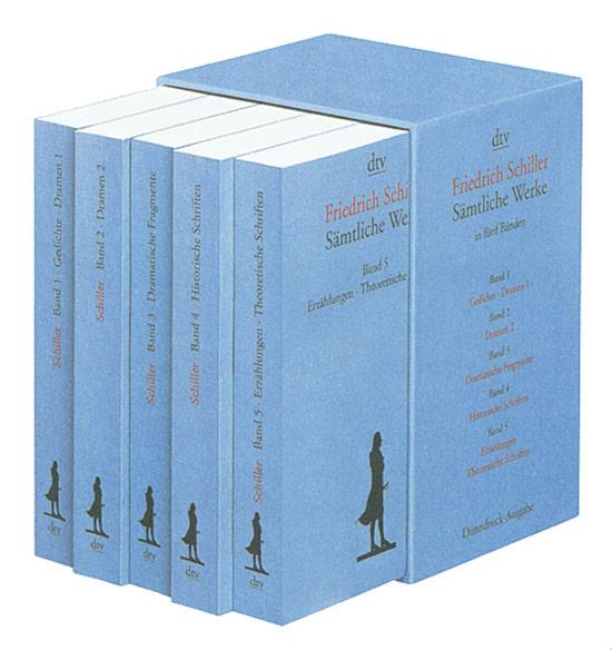 Friedrich Schiller Samtliche Werke In Funf Banden I Jetzt Kaufen
