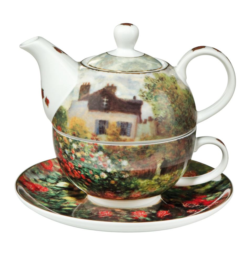 tea for one kanne mit tasse i f r euro i jetzt kaufen. Black Bedroom Furniture Sets. Home Design Ideas